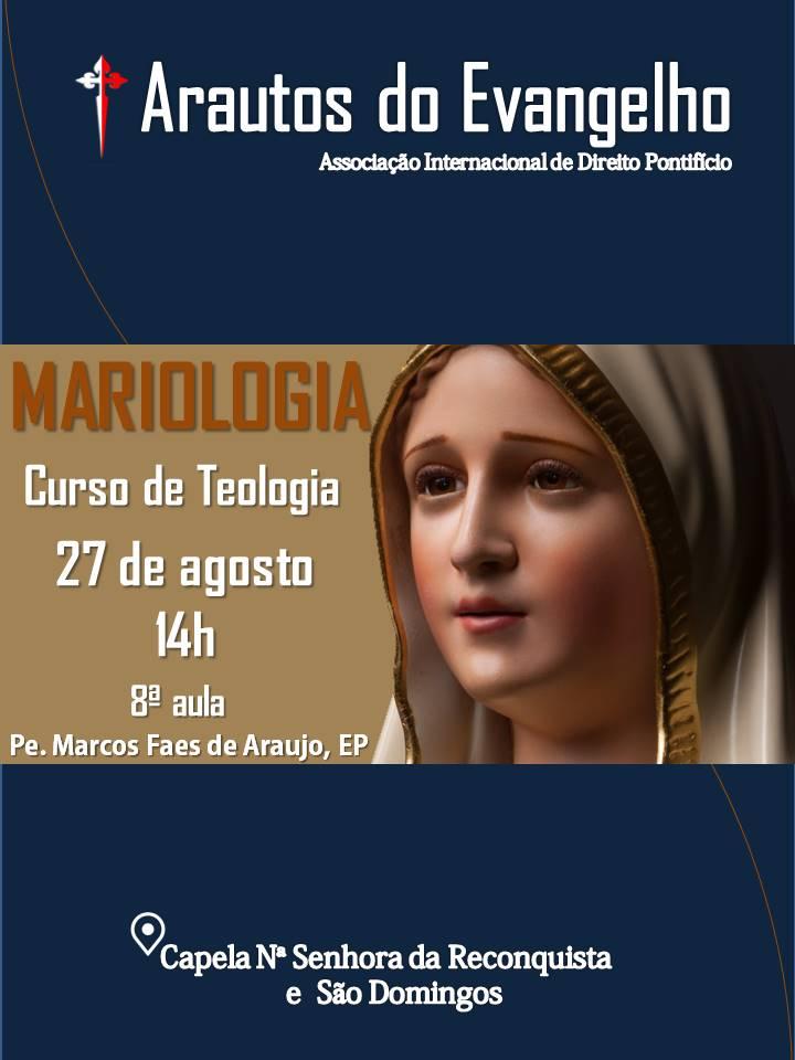 CONVITE PARA 8ª AULA DO CURSO DE TEOLOGIA