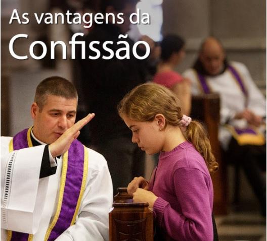 AS VANTAGENS DA CONFISSÃO