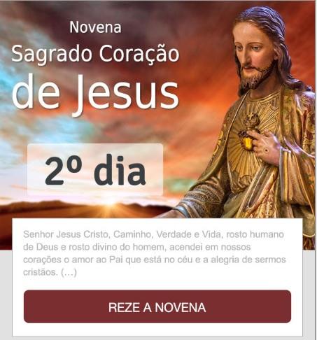 NOVENA AO SAGRADO CORAÇÃO DE JESUS: CHEIO DE BONDADE E DE AMOR!