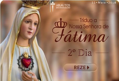 TRÍDUO A NOSSA SENHORA DE FÁTIMA: FAÇA OS SEUS PEDIDOS A ELA!