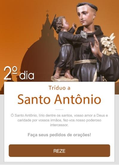 TRÍDUO A SANTO ANTÔNIO: AUXÍLIO DOS AFLITOS!