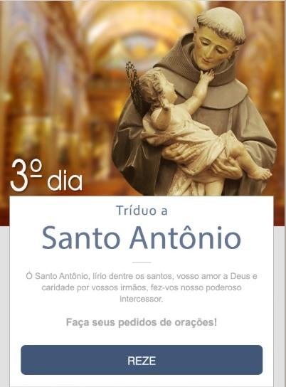 TRÍDUO A SANTO ANTÔNIO: LÍRIO DE CASTIDADE!