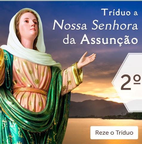 TRÍDUO A NOSSA SENHORA DA ASSUNÇÃO: FAÇA SEUS PEDIDOS!