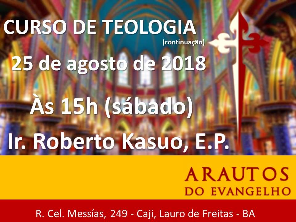 CONVITE: CURSO DE TEOLOGIA