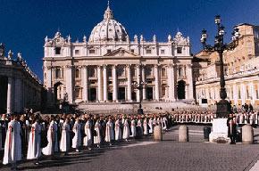 Heraldos del Evangelio en el Vaticano
