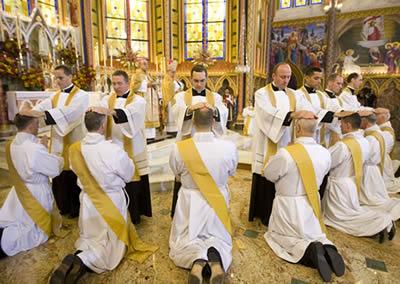 Ordenación de Heraldos del Evangelio